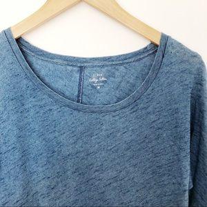 J. Crew Tops - Basic J Crew Blue T-Shirt SzM